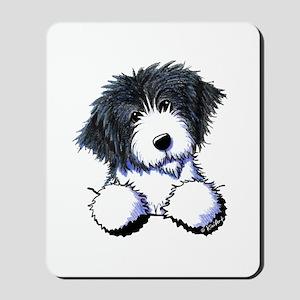 Pocket Bearded Collie Mousepad