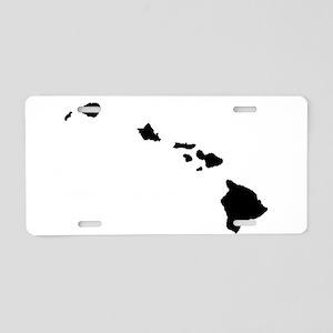 Hawaiian Islands Aluminum License Plate
