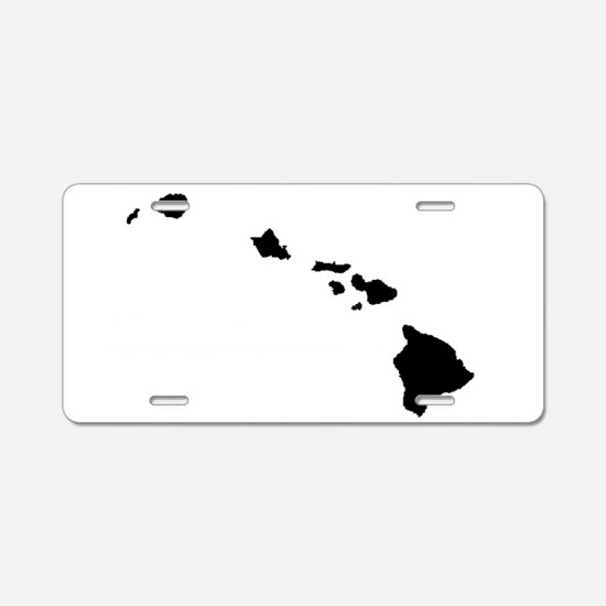 Hawaiian Islands Aluminum License Plate