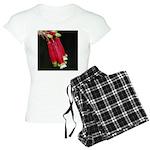 Flaming Firecracker Flowers Women's Light Pajamas