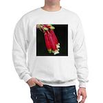 Flaming Firecracker Flowers Sweatshirt