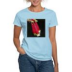 Flaming Firecracker Flowers Women's Light T-Shirt
