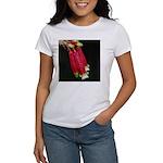 Flaming Firecracker Flowers Women's T-Shirt