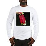 Flaming Firecracker Flowers Long Sleeve T-Shirt