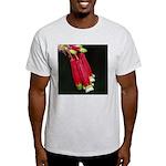 Flaming Firecracker Flowers Light T-Shirt