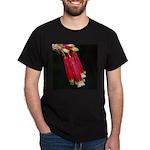 Flaming Firecracker Flowers Dark T-Shirt