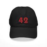 42 (Red) Black Cap