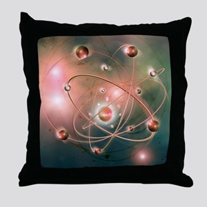 Atomic structure - Throw Pillow