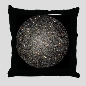 Globular cluster M13, HST image - Throw Pillow