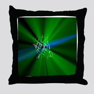 Green fluorescent protein - Throw Pillow