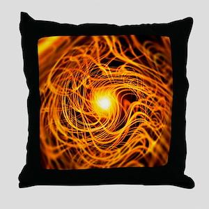 Superstrings, conceptual artwork - Throw Pillow