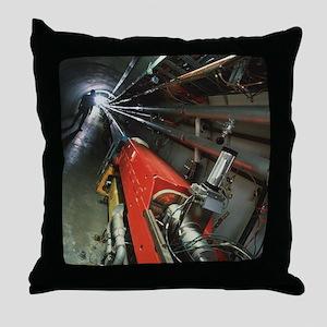Tevatron accelerator, Fermilab - Throw Pillow