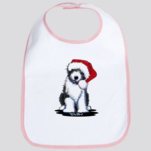 Bearded Collie Santa Bib