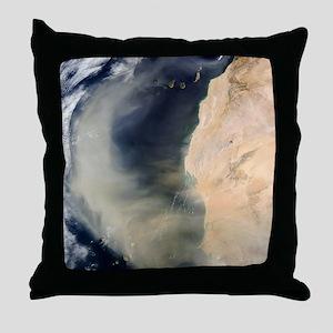 Dust storm over the Cape Verde Islands - Throw Pil
