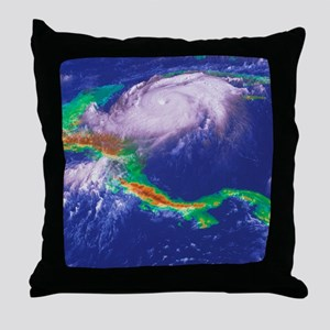 Hurricane Mitch - Throw Pillow