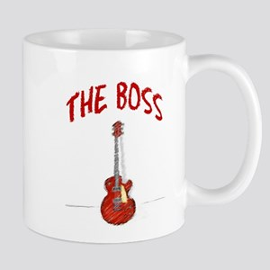 Rock Guitar and Boss Mug