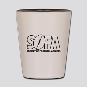 SOFA logo Shot Glass