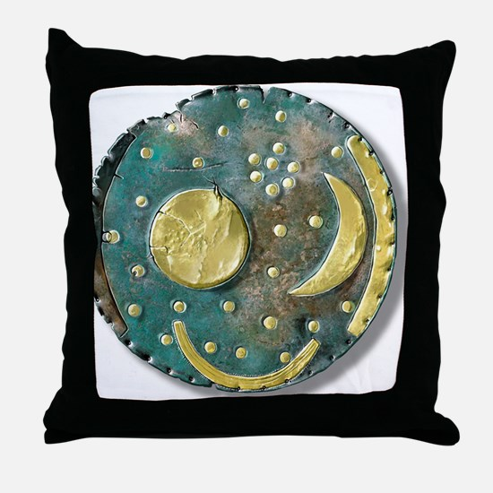 Nebra sky disk, Bronze Age - Throw Pillow