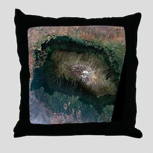 Snow on Mount Kilimanjaro, 2000 - Throw Pillow