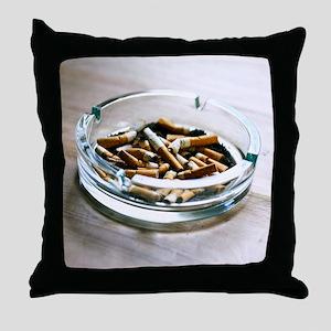 Ashtray - Throw Pillow