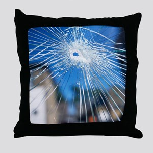 Broken glass - Throw Pillow