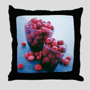 Cranberries - Throw Pillow