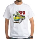 Watch The Hot Rod Please White T-Shirt