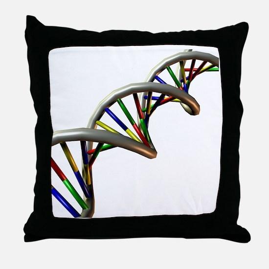 DNA molecule - Throw Pillow