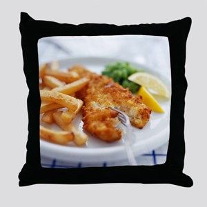 Fish and chips - Throw Pillow