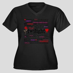 Twilight Quotes Plus Size T-Shirt