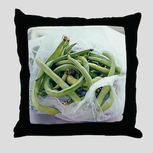 Green beans - Throw Pillow