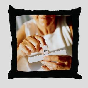Pill box - Throw Pillow