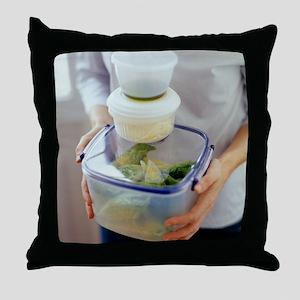 Salad ingredients - Throw Pillow