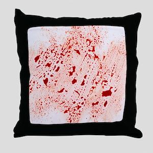 Blood - Throw Pillow