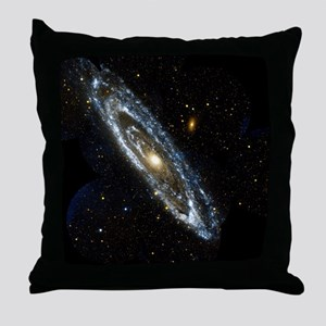 Andromeda Galaxy, UV image - Throw Pillow