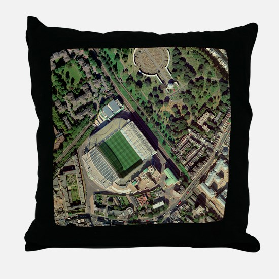 Chelsea's Stamford Bridge stadium, aerial - Throw