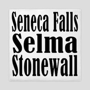 Seneca Falls Selma Stonewall Queen Duvet