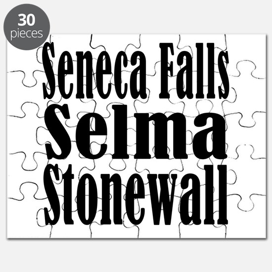 Seneca Falls Selma Stonewall Puzzle