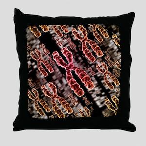 Chromosomes - Throw Pillow