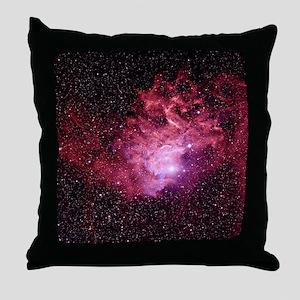 Flaming Star Nebula - Throw Pillow
