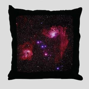 Emission nebulae - Throw Pillow