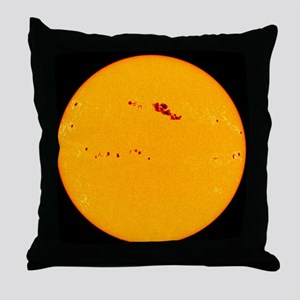 Large sunspot group - Throw Pillow