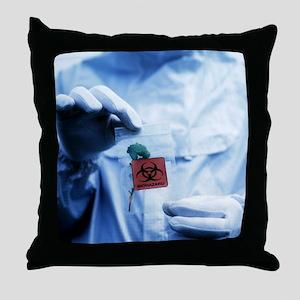 Environmental contamination - Throw Pillow