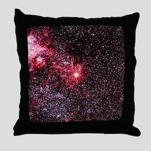 Optical image of supernova 1987A - Throw Pillow