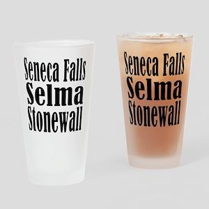 Seneca Falls Selma Stonewall Drinking Glass
