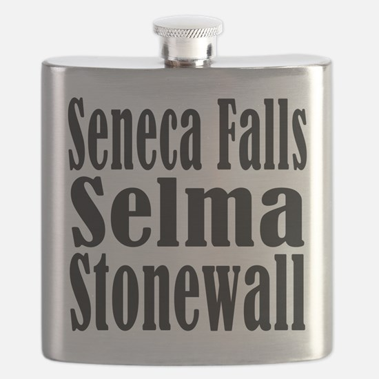 Seneca Falls Selma Stonewall Flask