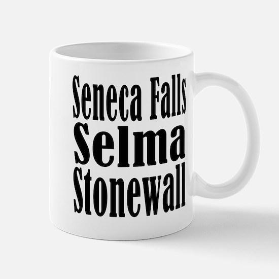Seneca Falls Selma Stonewall Mug