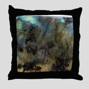 Labradorite - Throw Pillow