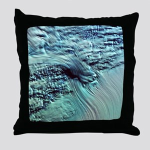 Lambert Glacier, Antarctica - Throw Pillow