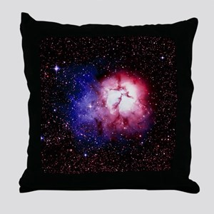 Optical image of the Trifid nebula in Sagittarius